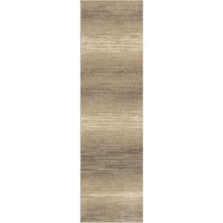 Carolina Weavers Eden Collection Fuse Beige Runner (2'3 x 8')
