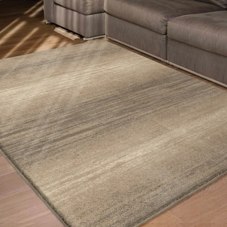 Carolina Weavers Eden Collection Fuse Beige Area Rug (7'10 x 10'10)