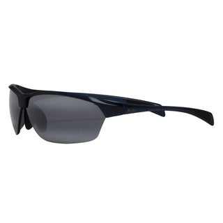 Maui Jim Men's 'Hot Sands' Blue/ Grey Polarized Sport Sunglasses