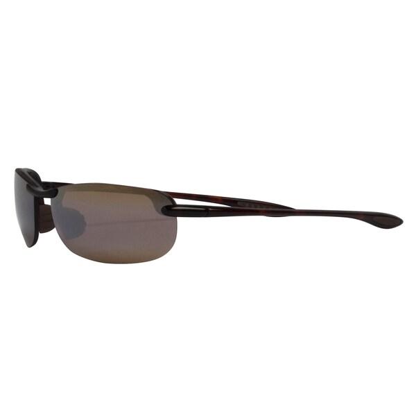 774f1867d9b Maui Jim Unisex   x27 Makaha  x27  Tortoise Polarized Rectangle Sunglasses
