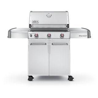Weber 6550001 Genesis S-310 Stainless Steel 60-inch Freestanding LP Gas Grill