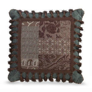 Croscill Galleria Brown Fashion Throw Pillow