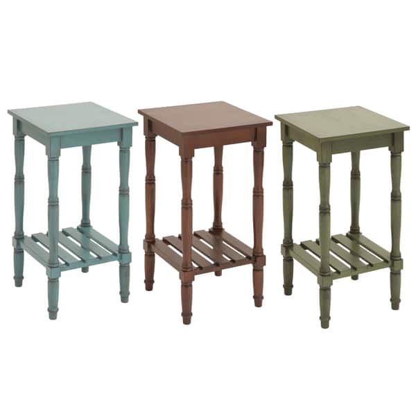 Cape Cod Solid Wood 29-inch Side Table - Overstock - 9332336