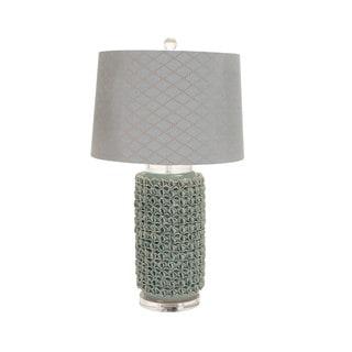 Casa Cortes Alana Handcrafted Ceramic Table Lamp Sky Blue