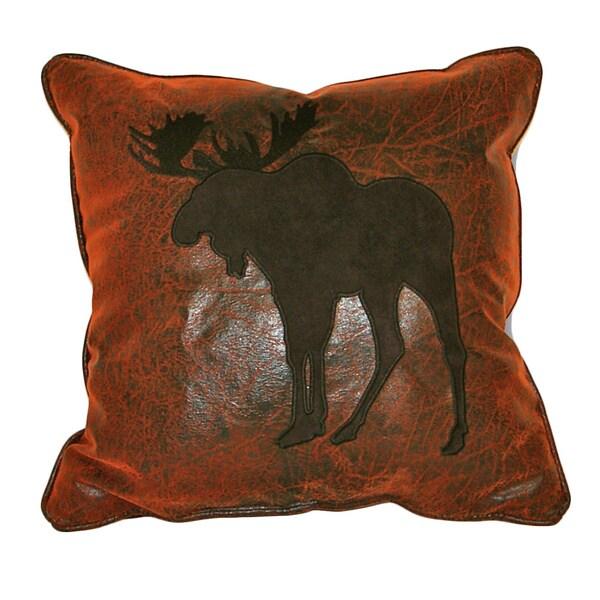 Shop Croscill Plateau Moose 16 Inch Throw Pillow Free