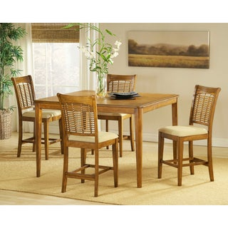 Bayberry Oak 5-piece Counter Height Dining