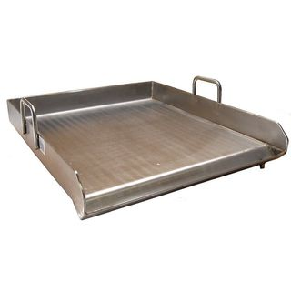 Heavy Duty Stainless Steel Single Burner 18x16 inch Flat Top Griddle