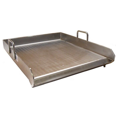 Stainless Steel Heavy-duty Single-burner 18-inch x 16-inch Flat-top Griddle