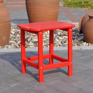 Panama Jack Adirondack End Table (Red)