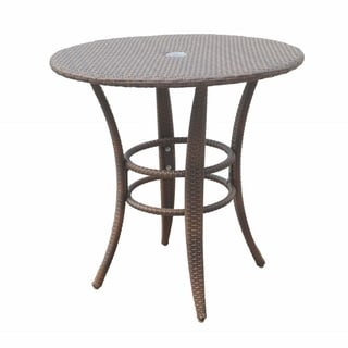 Panama Jack Key Biscayne Woven 30-inch Round Bistro Table