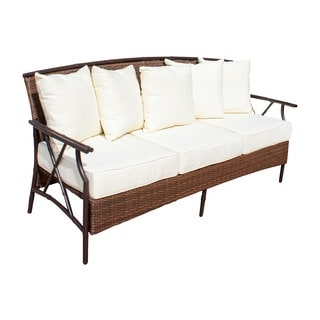 Panama Jack Key Biscayne Woven Sofa with Cushion