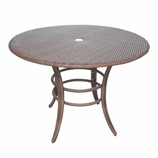 Panama Jack Key Biscayne Woven 42-inch Round Dining Table
