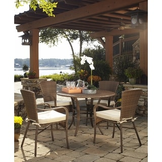 Panama Jack Key Biscayne 5-piece Dining Set with cushions