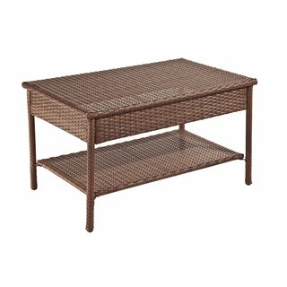 Panama Jack Key Biscayne Woven Coffee Table
