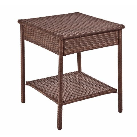 Panama Jack Key Biscayne Woven End Table