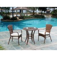 Panama Jack Key Biscayne 3-piece Bistro Set with Cushions