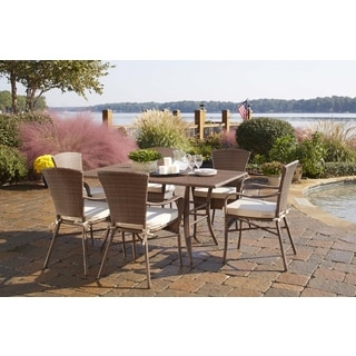 Panama Jack Key Biscayne 7-piece Dining Set with Cushions