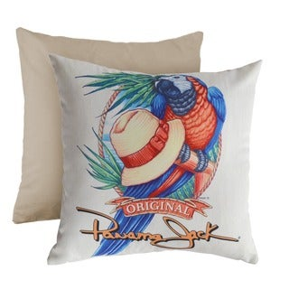 Panama Jack 'Panama Parrot' Square Throw Pillow (Set of 2)