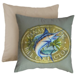 Panama Jack 'Bill Collector' Square Throw Pillow (Set of 2)