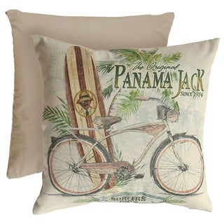Panama Jack Square Beach Comber Throw Pillow (Set of 2)