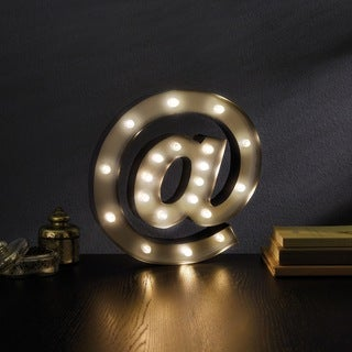 'AT' (@) Decorative LED Marquee Sign