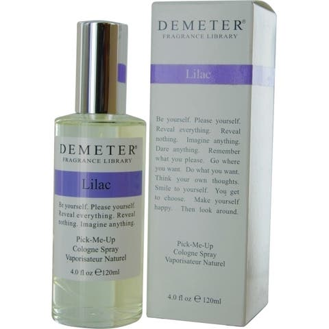 Demeter Lilac Women's 4-ounce Cologne Spray - Clear