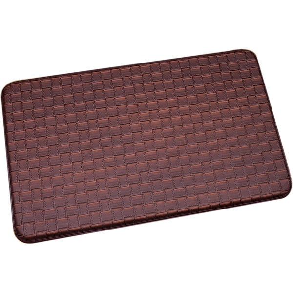 memory foam kitchen floor mat shop brown memory foam chef design kitchen floor mat on 9139
