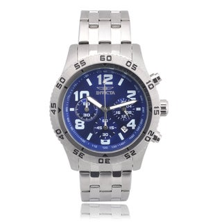 Invicta Men's 1489 Stainless Steel 'Specialty' Chronograph Link Watch
