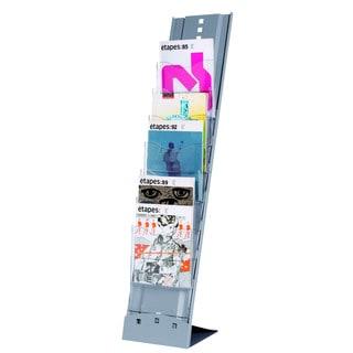 Paperflow Portable Seven-compartment Floor Literature Display
