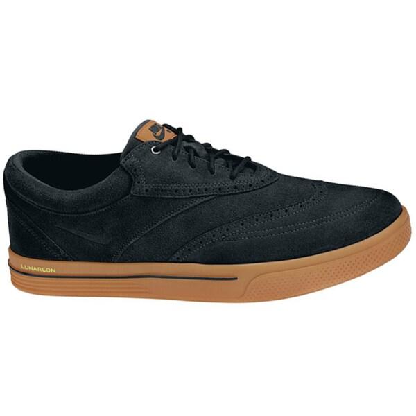 391632bec1297 Nike Men's Lunar Swingtip Suede Black/Gum Medium Brown/Volt Golf Shoes