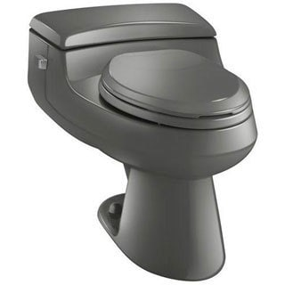 Kohler San Raphael Thunder Grey 1-piece Elongated Toilet