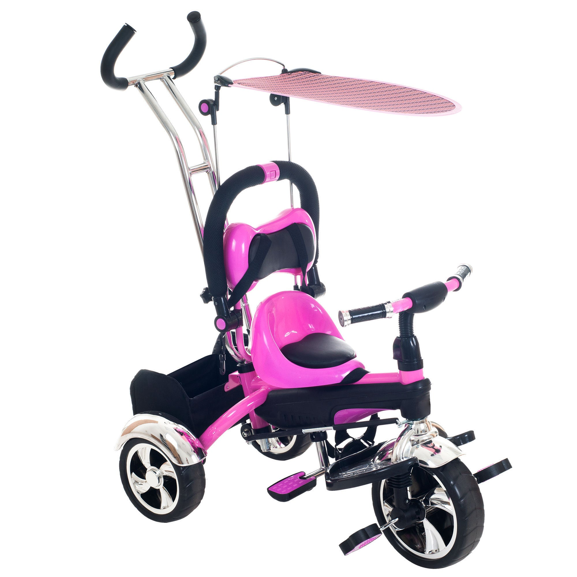 Lil' Rider Tricycle Stroller Bike, 3-1 Stroller with Remo...