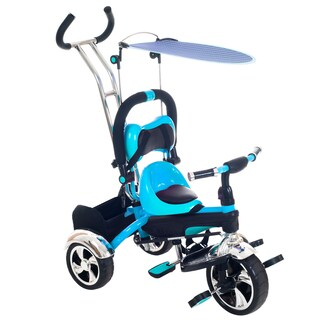 Lil' Rider 3-in-1 Tricycle Removable Canopy Organizer Stroller Bike