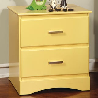 Furniture of America Colorpop 2-Drawer Youth Nightstand