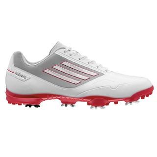 Adidas Men's Adizero One Running White/Black/Red Golf Shoes