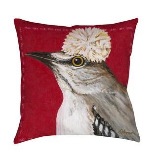 Thumbprintz You Silly Bird Gigi Throw Pillow or Floor Pillow
