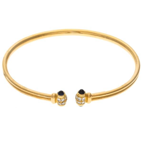 f2ee7eb20a2b3 Shop Pre-Owned Cartier 18k Yellow Gold 0.55ct TW Diamond and ...