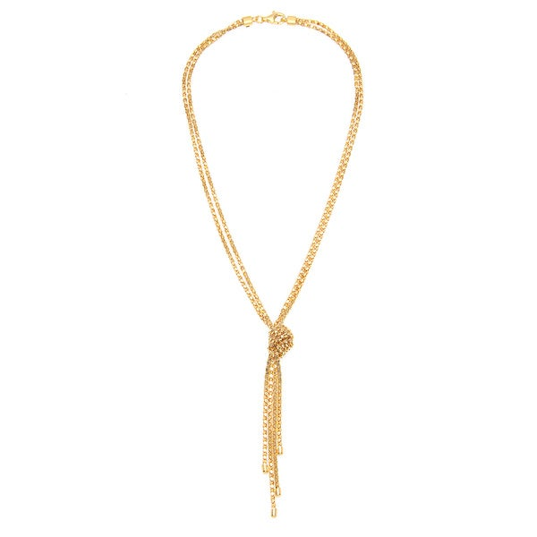 Shop Silvex Italy Necklace /925 Gold-Plated Silver - Free Shipping