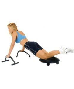 Black Ultimate Fitness Object Ergonomic Foam/Steel Workout Accessory - Thumbnail 1