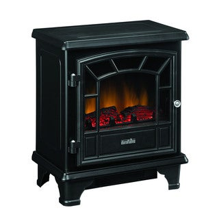 Duraflame DFS-500-0 Black Thomas Electric Stove with Heater