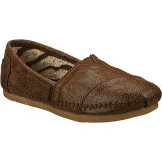 Women's Skechers Luxe BOBS Rain Dance Chocolate