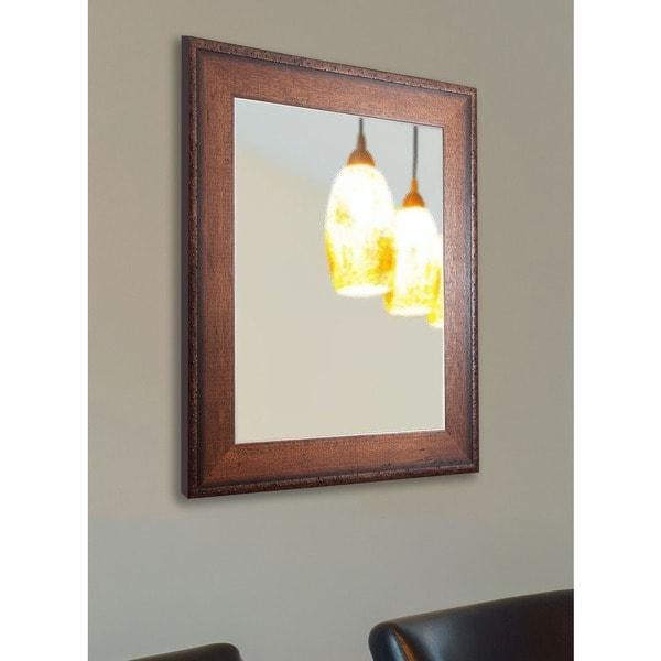 American Made Rayne Timber Woods Vanity Wall Mirror