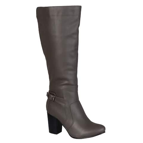 Journee Collection Women's Carver High-heeled Boot