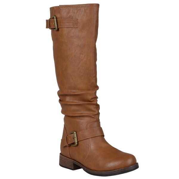 a98816b4bd0 Shop Journee Collection Women's 'Stormy' Regular and Wide-Calf ...