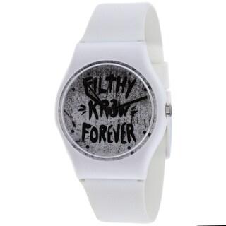 Kr3w Women's White Freshman Watch