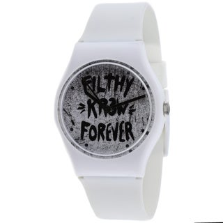 Kr3w Women's White Freshman Watch