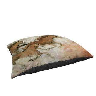 Horse Fresco II Large Rectangle Pet Bed