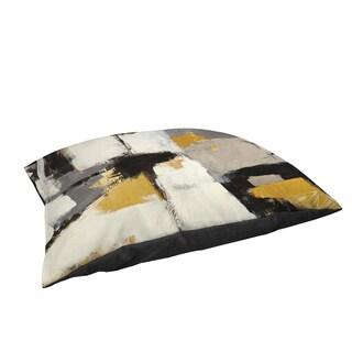 Yellow Catalina I Large Rectangle Pet Bed