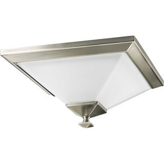 Progress Lighting Silvertone 1-light Semi-flush Mount Fixture