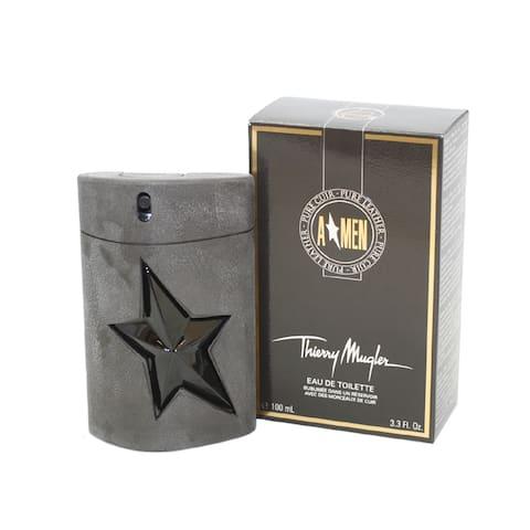 Thierry Mugler Pure Leather Men's 3.4-ounce Eau de Toilette Spray